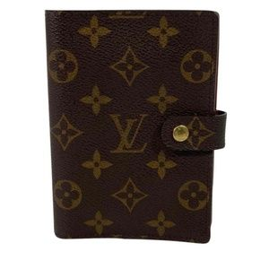 Louis Vuitton Monogram Agenda PM Tech Accessories